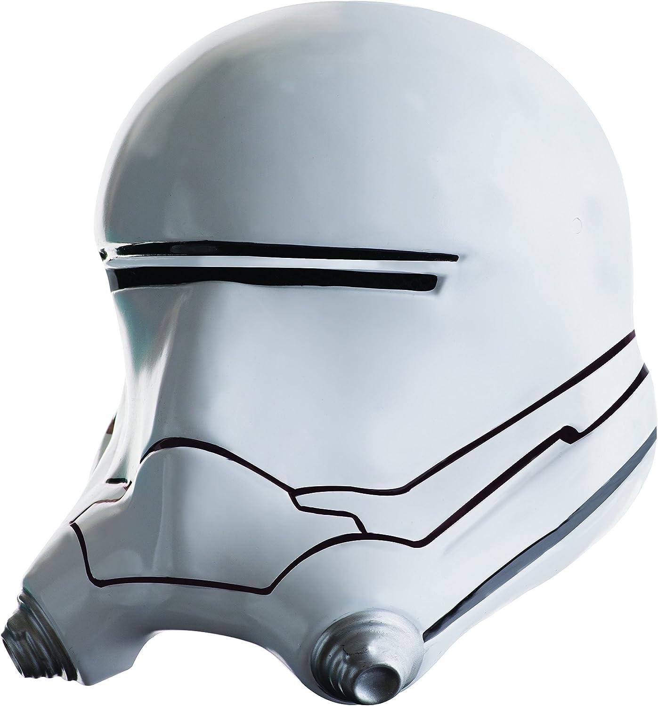Mens Star Wars DELUXE Flame Trooper Flametrooper Adult Costume Full Helmet