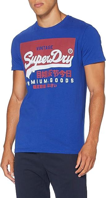 Superdry VL O tee Camisa para Hombre: Amazon.es: Ropa y accesorios