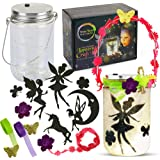 Mason Jar Lantern Craft Kit - DIY Make Your Own Lantern Jar - Craft Project for Kids - Great Gift (Fairy Lantern (ONE…
