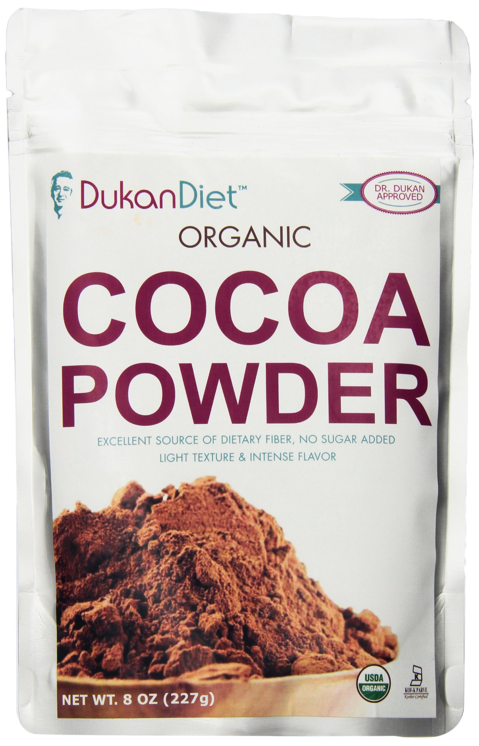 Dukan Diet Organic Cocoa Powder, 8 Ounce
