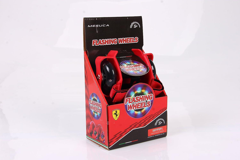 Ferrari Infantil con Luz Intermitente talón patines, color rojo: Amazon.es: Deportes y aire libre