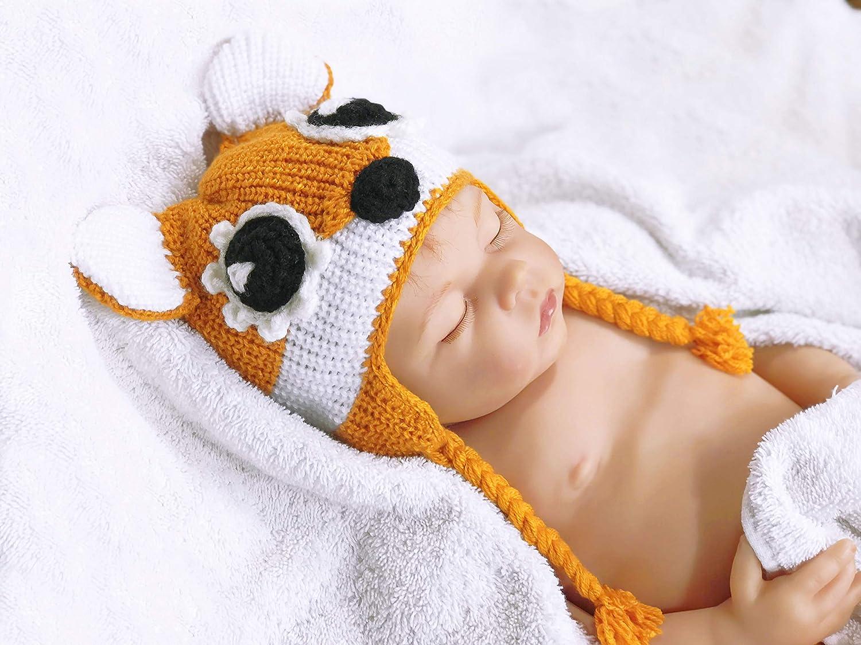 Amazon.com  Fox hat baby animal hat fox animal hat baby fox hat newborn fox  hat crochet hat fox baby hat newborn hat fox baby hat newborn hat fox baby   ... 177e434ef4a