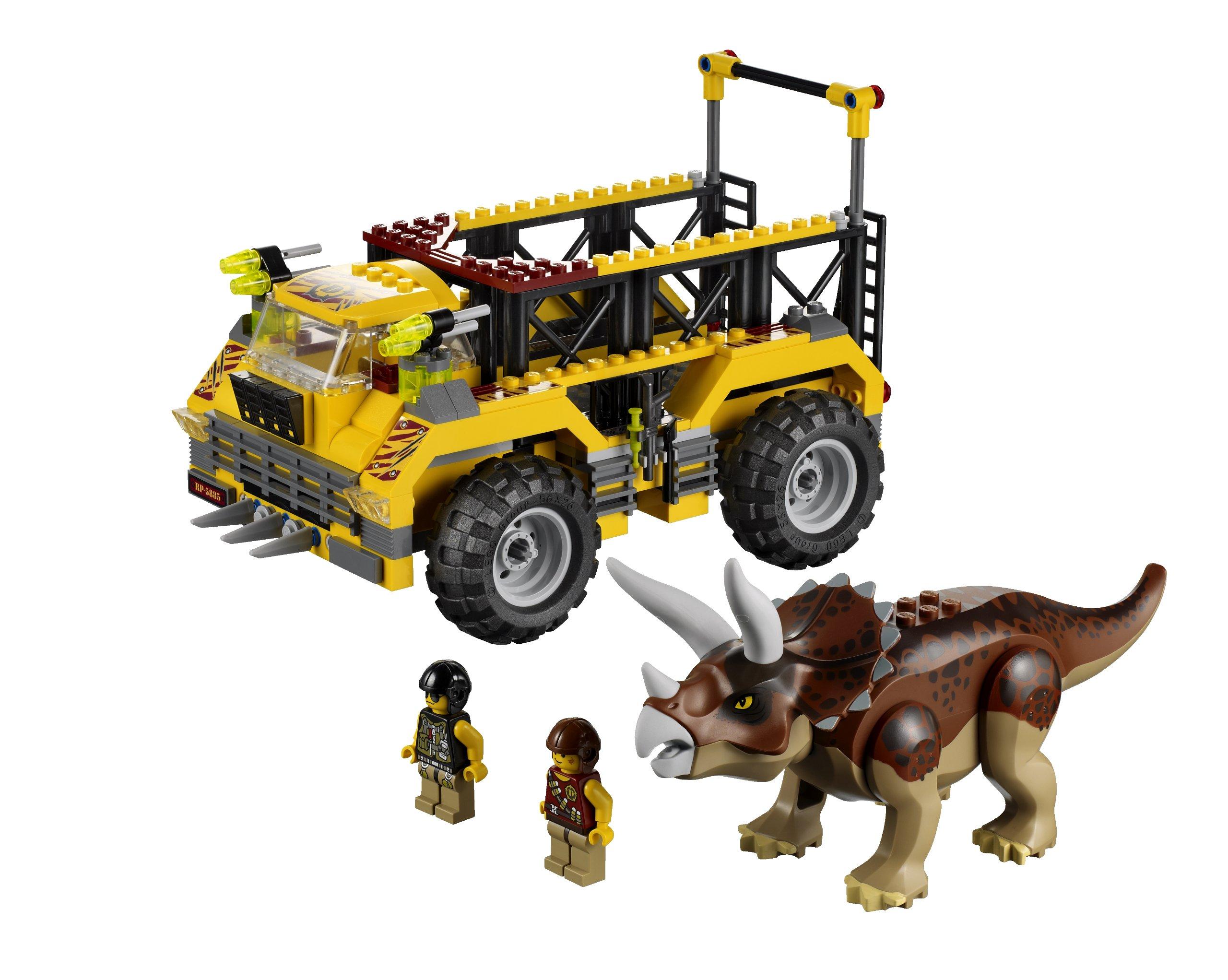 Lego dino triceratops trapper 5885 ebay - Lego dinosaures ...