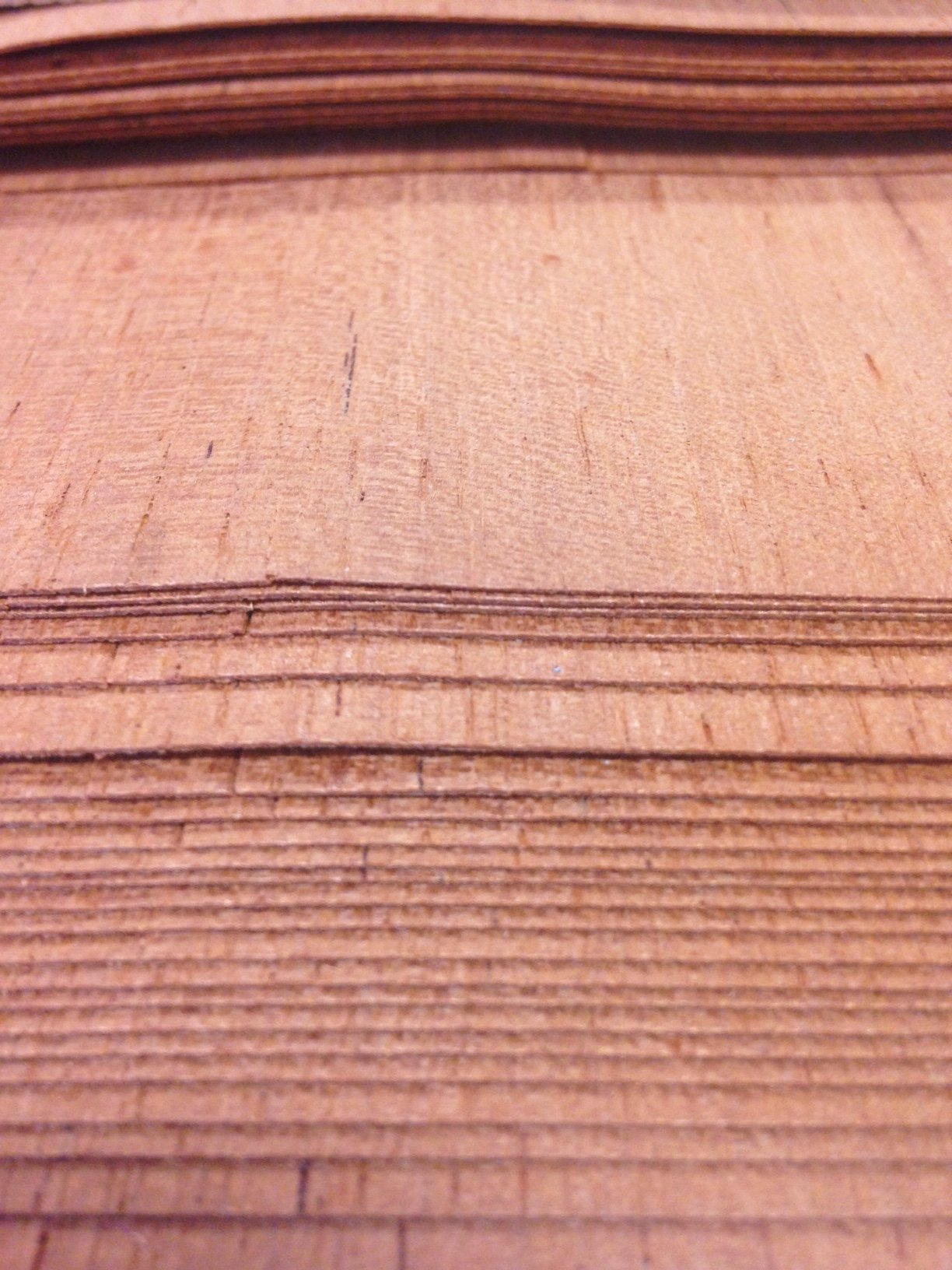 Spanish Cedar Veneer, 12 Sq. Ft, Premium Grade A raw Wood