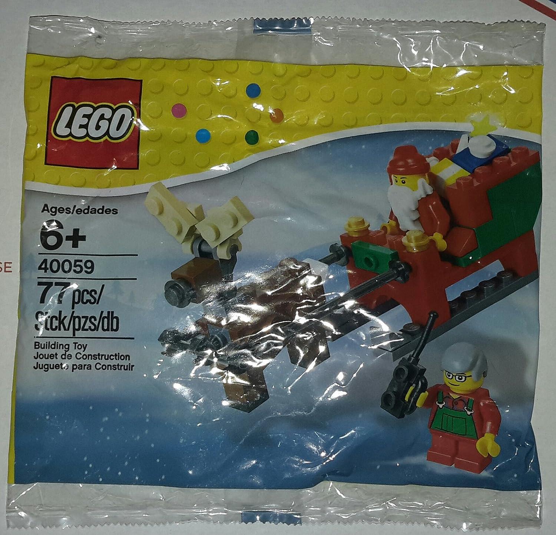 40125 SANTA/'S VISIT lego NEW town CITY legos set CHRISTMAS santa clause retired
