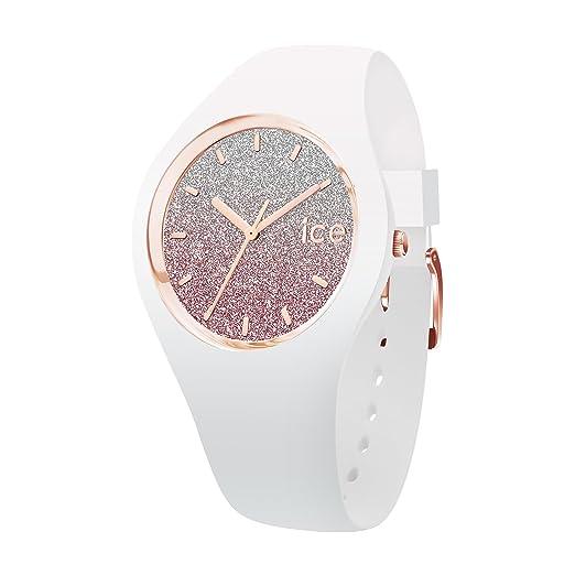 Ice-Watch Reloj Analógico para Mujer de Automático con Correa en Silicona IC013431: Ice-Watch: Amazon.es: Relojes
