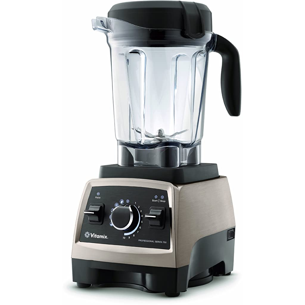 Vitamix Professional Series 750 Brushed Stainless Finish with 64-Oz