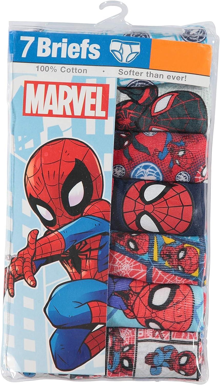 Marvel Little Boys Spiderman Seven-Pack of Briefs: Amazon.es ...