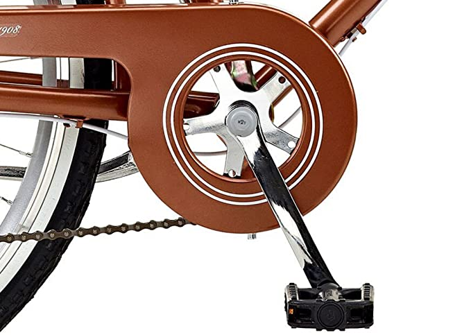 Viking 2018 Belgravia - Bicicleta de Cobre de 6 velocidades para Mujer: Amazon.es: Deportes y aire libre