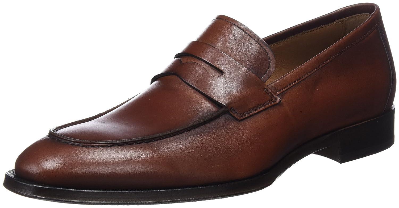 Lottusse L6868, Mocasines (Loafer) Para Hombre 45 EU|Marrón (Ebony Tabac)