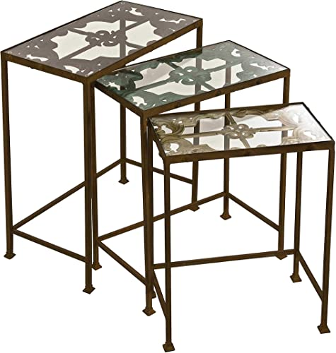 IMAX Torry Nested Tables, Set of 3