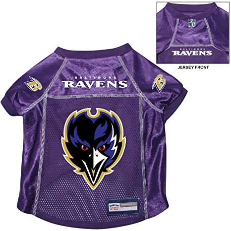 64b6f4618 Image Unavailable. Image not available for. Color  Baltimore Ravens Pet Dog  Football Jersey MEDIUM