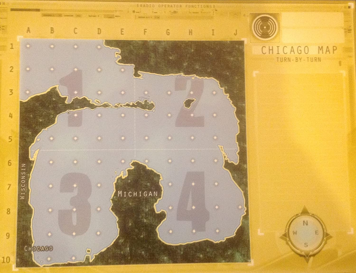 Amazoncom Captain Sonar Board Game Extra Maps Chicago Map - Chicago map amazon