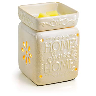 Ceramic Fragrance Warmer (Home Sweet Home)