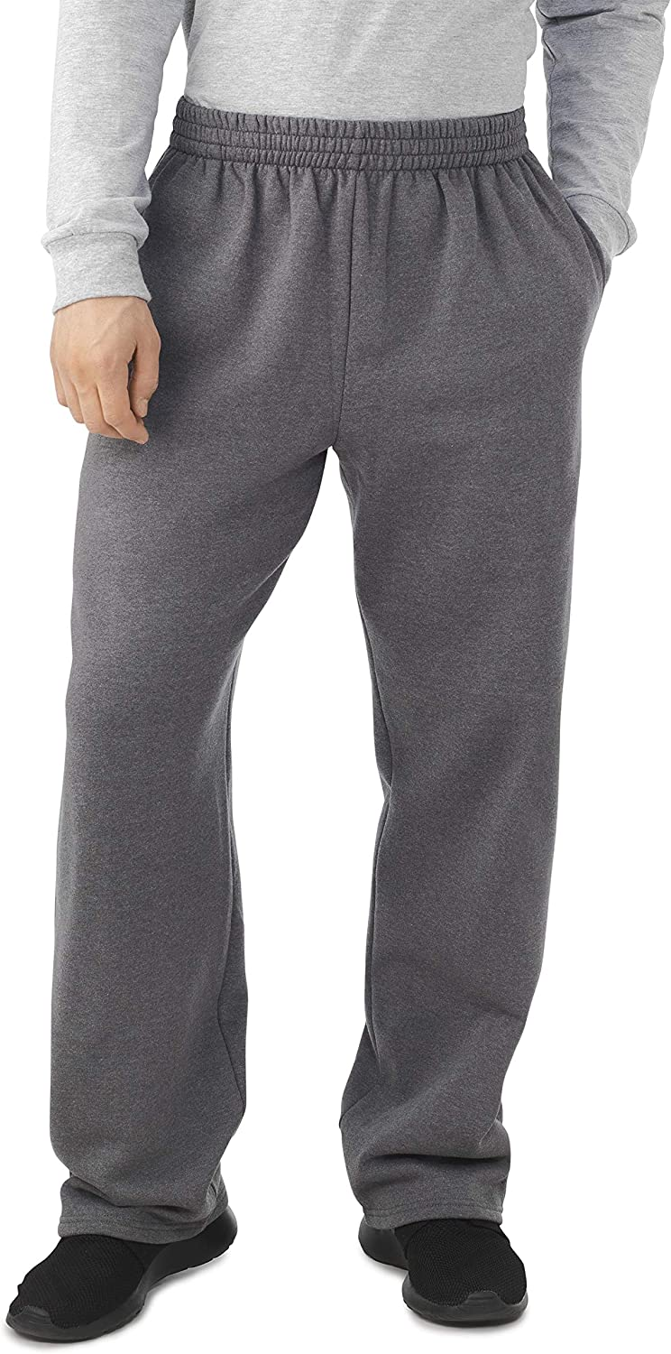 Fruit of the Loom Men's Fleece Sweatpants at  Men's Clothing store