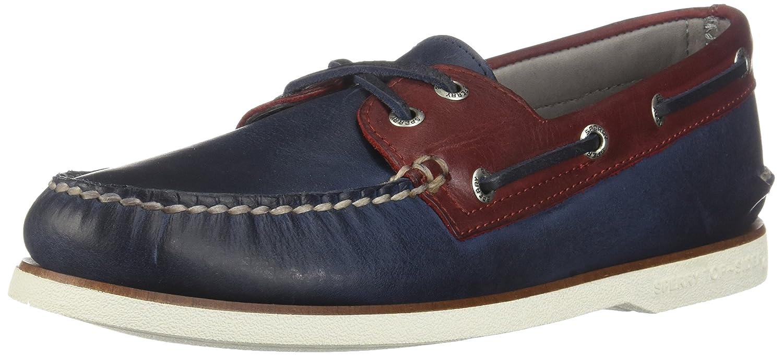 Sperry Top-Sider Herren Gold A / O 2-Augen Bootsschuhe, Blau  44.5|Blau