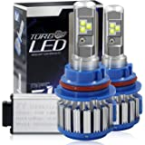 Win Power 9007(HB5) LED Hi-lo Beam Headlight CREE Bulbs Conversion Kits + Canbus (1 Pair)-2 Year Warranty