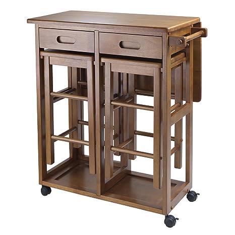 Outstanding Winsome Suzanne Kitchen Square Teak Spiritservingveterans Wood Chair Design Ideas Spiritservingveteransorg