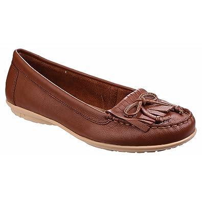Hush Puppies - Mocasines en contraste modelo Ceil Mocc KL para mujer (36 EU/Marrón tostado): Amazon.es: Zapatos y complementos