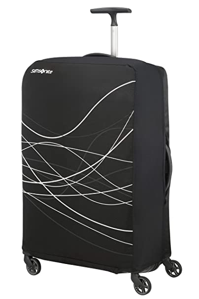 Samsonite Travel Accessories 5 - Foldable Luggage Cover S, Funda de Equipaje, Black (Negro): Amazon.es: Equipaje
