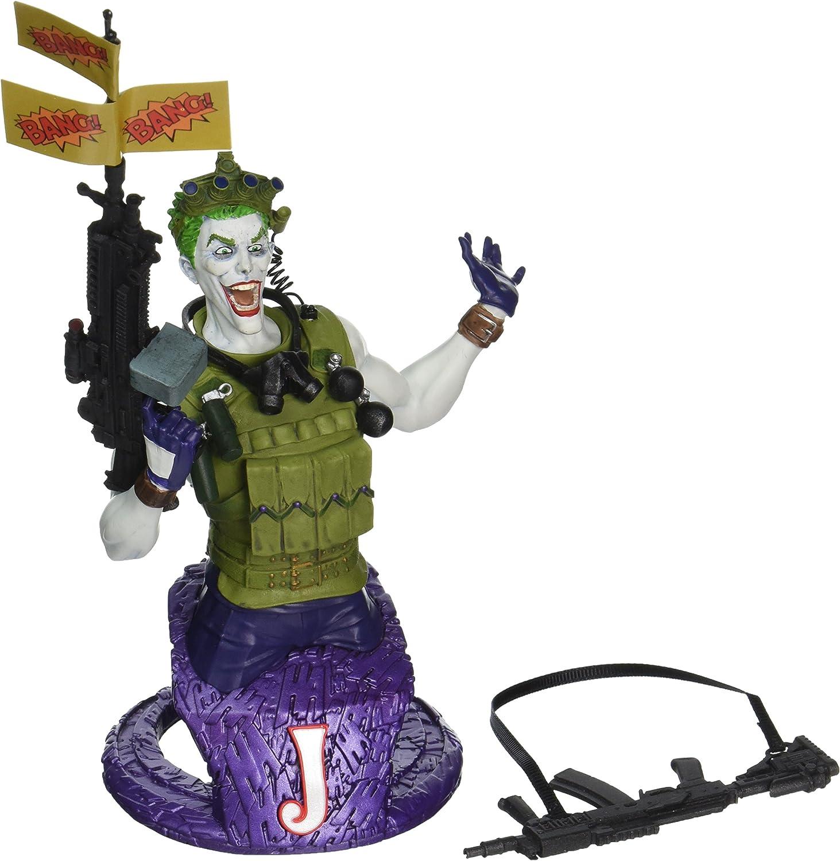DC COMICS SUPER VILLAINS JOKER ACTION FIGURE DC DIRECT
