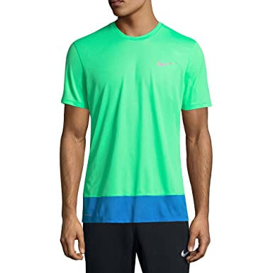 36983f12 Image Unavailable. Image not available for. Color: Nike Men's Breathe Rapid  Challenger Running T-Shirt ...