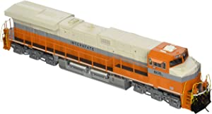 Bachmann GE ES44AC DCC Sound Value Equipped Diesel Locomotive - INTERSTATE #8105 (with operating ditch lights)- HO Scale