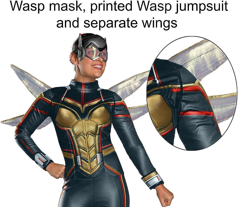 Amazon.com: Rubies Disfraz de Wasp Avengers Endgame para ...
