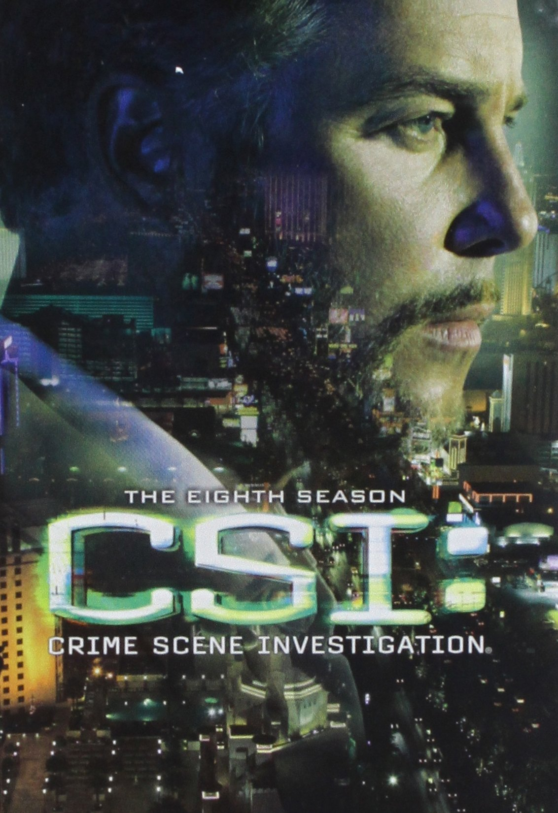CSI: Crime Scene Investigation - The Eighth Season (Boxed Set, Widescreen, Repackaged, Two Sided, Amaray Case)