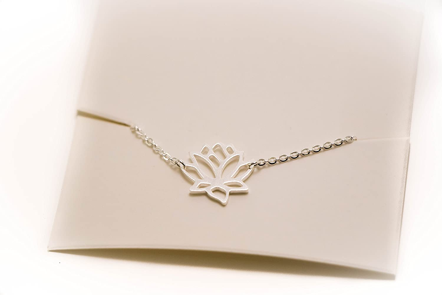 Lotus Flower Chain Anklet - Fashion Jewelry Sasso
