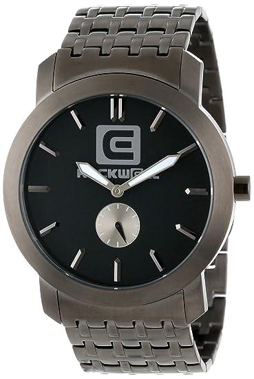 Amazon.com: Rockwell Tiempo Unisex CL105 Cartel Gunmetal ...