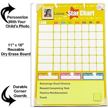 Chore Charts Behavior Reward For Kids | Magnetic | Ideal For Rewarding  Positive Behavior Training Toddlers