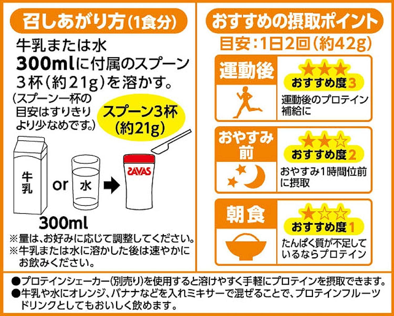 ザバス(SAVAS)ウェイトアップ ホエイプロテイン+マルトデキストリン バナナ味 プロテインサプリメント【60食分】
