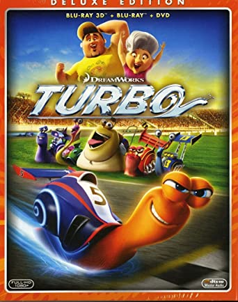 turbo - deluxe edition (blu-ray 3d + blu-ray disc [Italia
