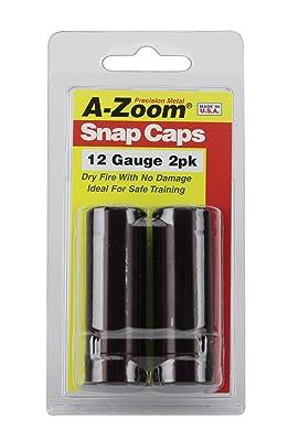 A-Zoom Precision Snap Caps 12 Gauge (2 Pack)
