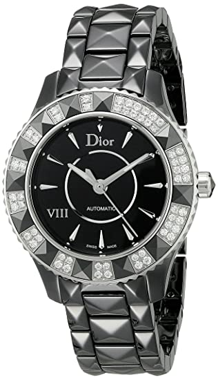 enorme sconto 9db16 41d9f Christian Dior Dior VIII orologio CD1235E0 C001: Amazon.it ...