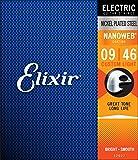 Elixir エリクサー エレキギター弦 NANOWEB Custom Light .009-.046 #12027 【国内正規品】