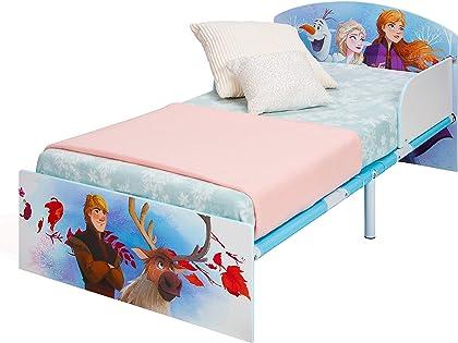 Cama de Frozen Infantil Kristoff y Sven, Metal, Toddler Disney