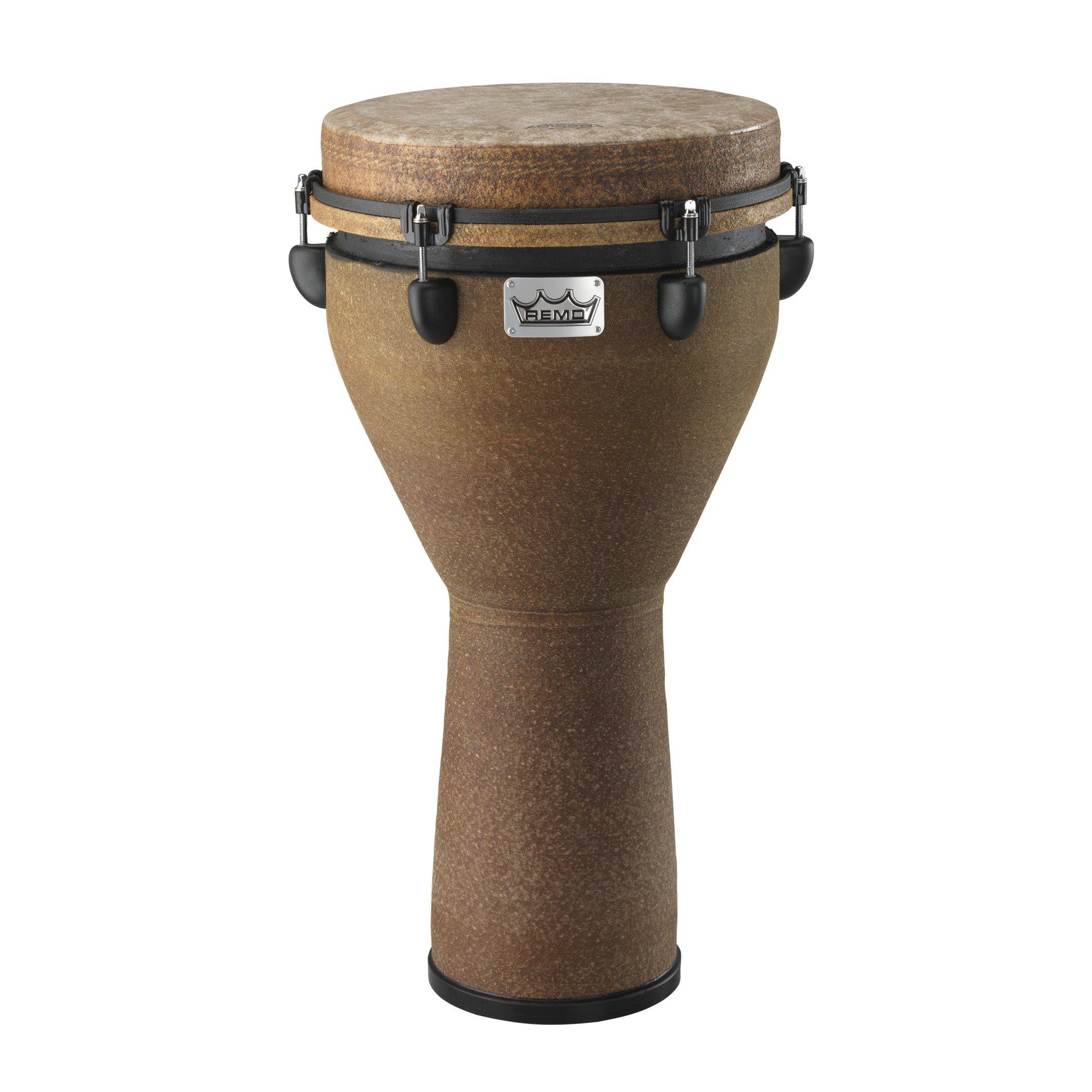 Remo DJ-0012-05 Mondo Djembe Drum - Earth, 12''