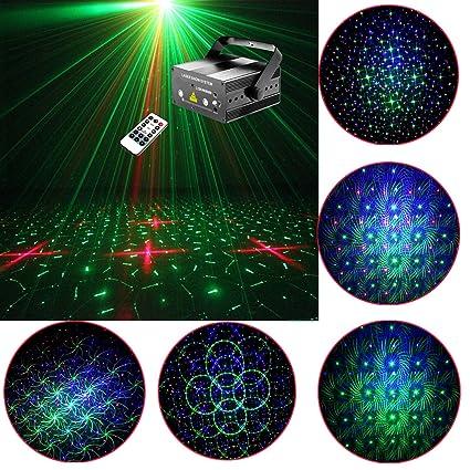 Amazon.com: Familia Party Light, efecto sumger luces DJ RGB ...