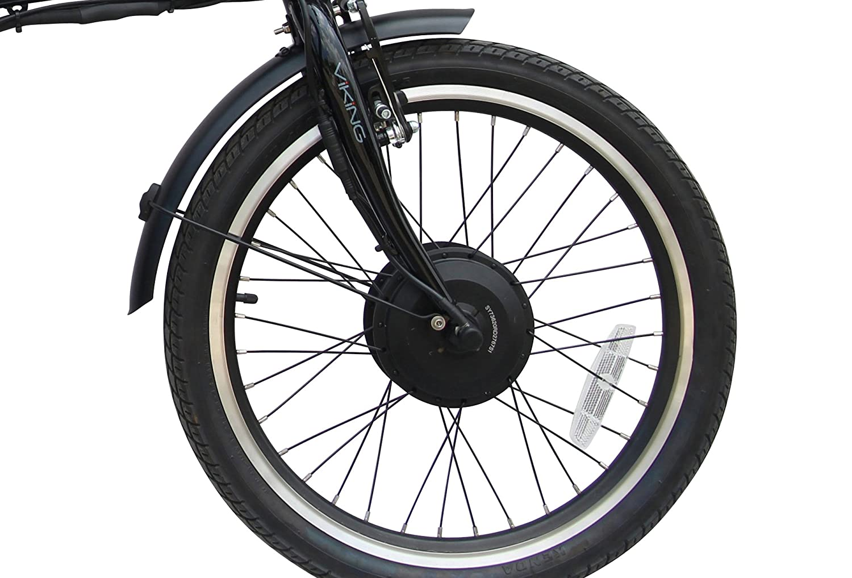 Viking Vision - Bicicleta eléctrica plegable con ruedas de 40,8 cm y batería de 36 V y 250 W: Amazon.es: Deportes y aire libre