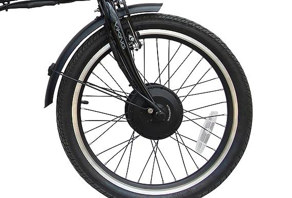 Viking Vision - Bicicleta eléctrica plegable con ruedas de ...