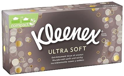 Kleenex Ultrasoft Caja de pañuelos, 80 unidades