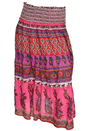 Chaudry Tiered Skirt