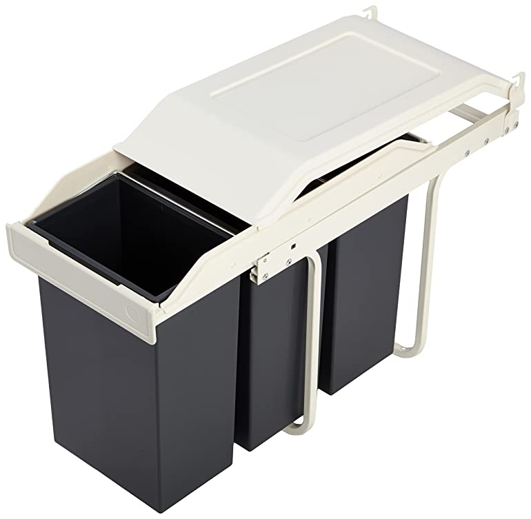 Abfalltrenner Küche | Hailo Hvs 3659 101 Multi Box Waste Separation System S 3x10 L