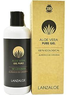 Lanzaloe gel puro de Aloe Vera 100% ecológico 250ml