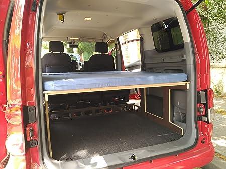 Amazon.es: Camporan - Kit camper con colchón plegable para NV200 y ...