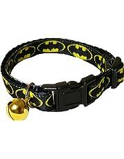Spoilt Rotten Pets Designer Cat Collar With Bell & Safety Buckle (Bat Cat)
