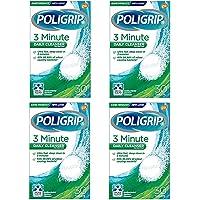 Poligrip Denture 3 Min Ultra Cleansing 30 Tablets (Pack of 4)