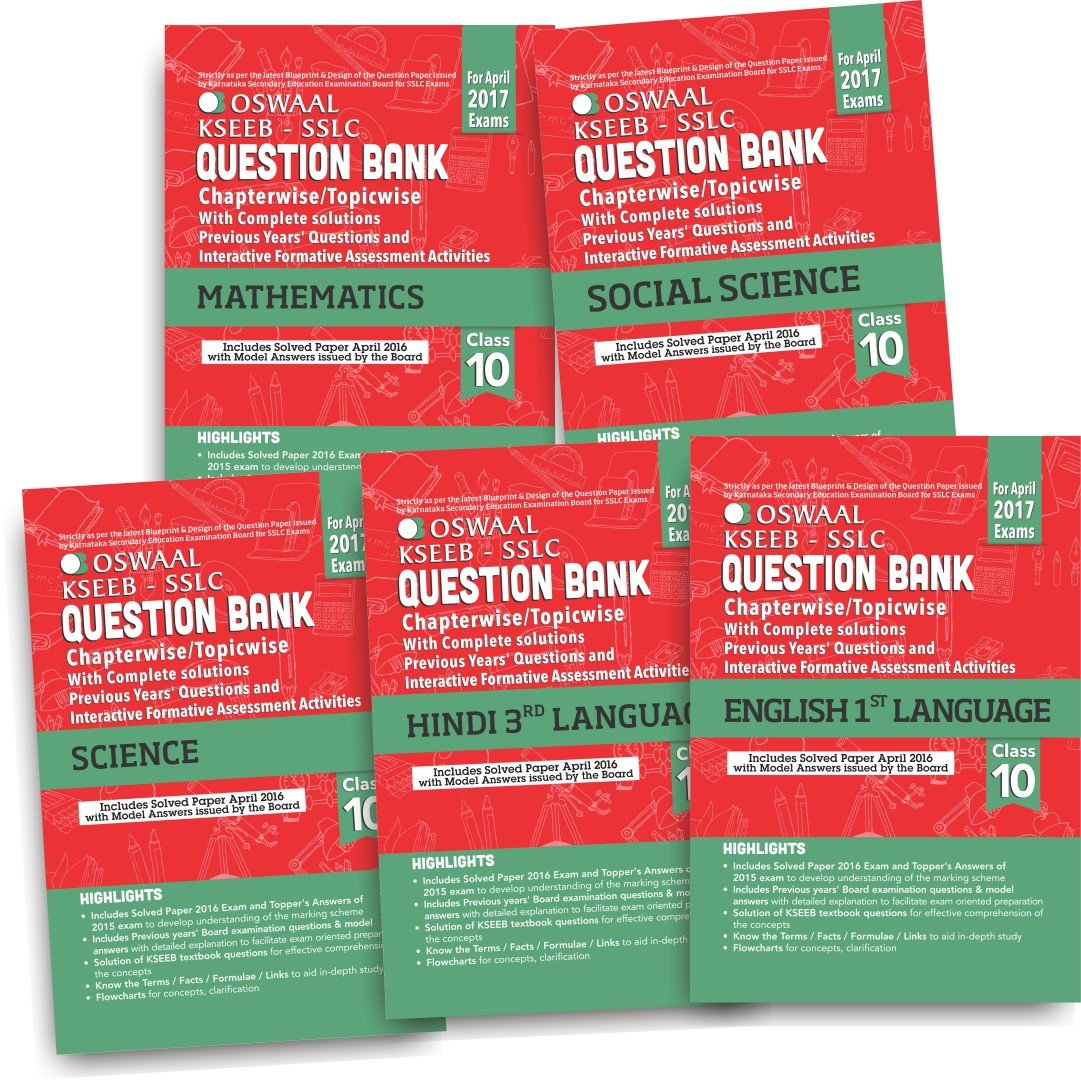 Oswaal kseeb sslc question bank with complete solutions english 1st oswaal kseeb sslc question bank with complete solutions english 1st language hindi 3rd language mathematics science social science for class 10 malvernweather Image collections
